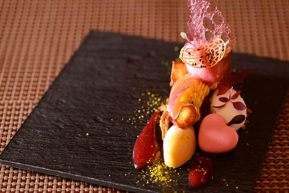 早雲蜜芋と紅玉のマリアージュ